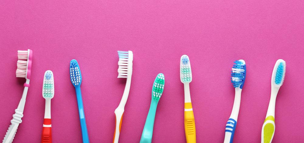 Troque sua escova regularmente