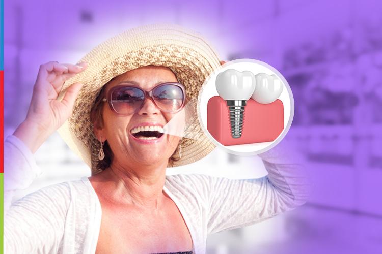 Como ter um implante dentário pode fazer a diferença na sua rotina
