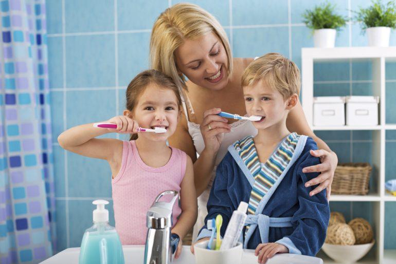 Prevenir cáries em crianças