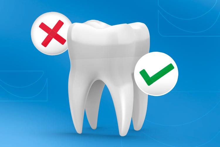 Desvendamos 7 mitos e verdades populares sobre a saúde bucal