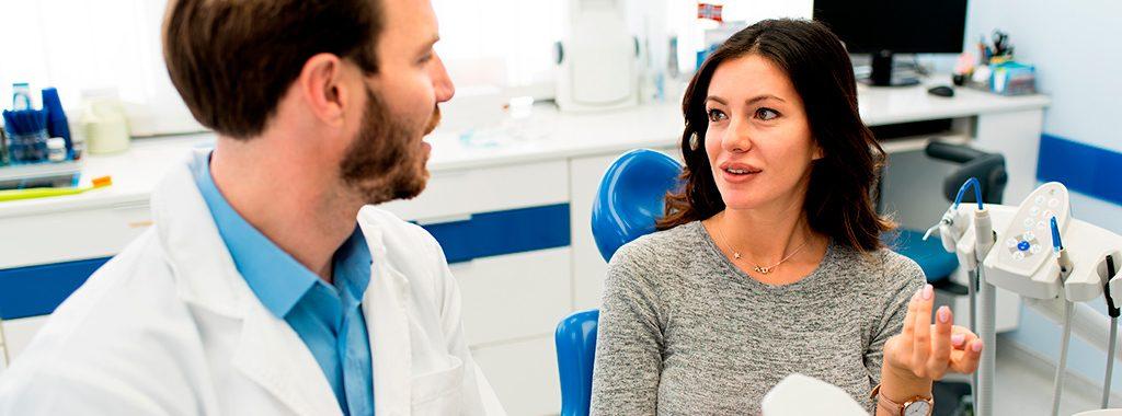 converse sobre o seu medo de dentista
