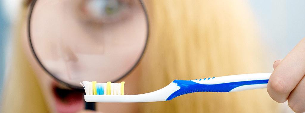 Não demore a trocar a sua escova de dentes
