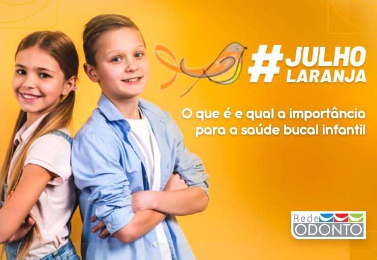 Julho Laranja: o que é e qual a importância para a saúde bucal infantil?